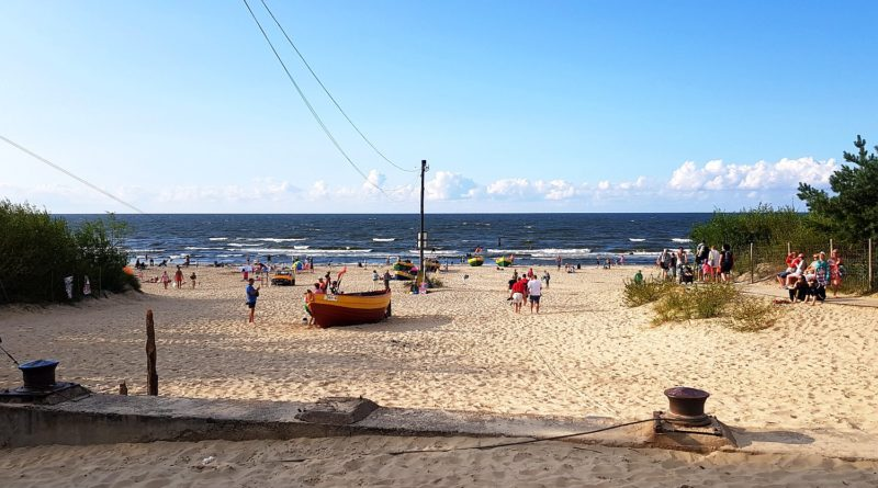 plaża w Jantarze