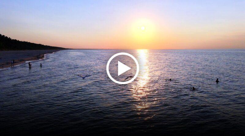 zachody słońca na mierzei