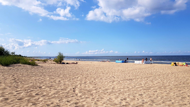 plaża w Mikoszewie