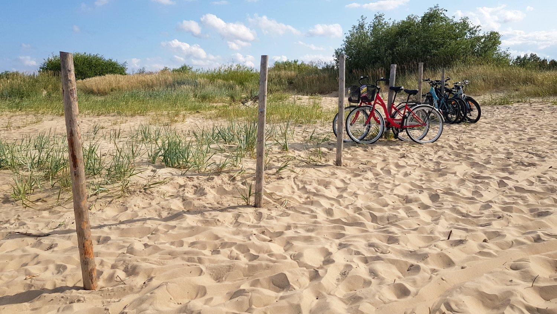 rowerem do Mikoszewa
