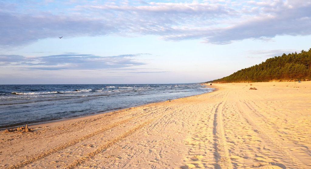 plaża w Junoszynie