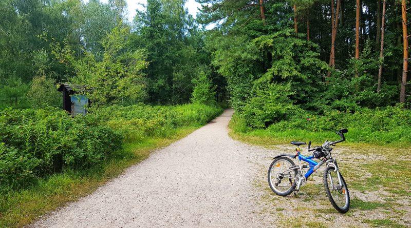 trasa rowerowa mikoszewo - piaski