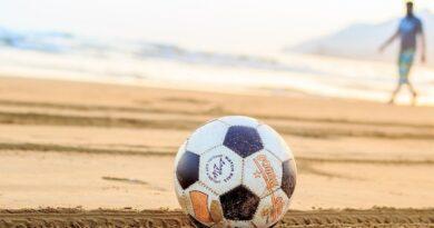 beach soccer jantar