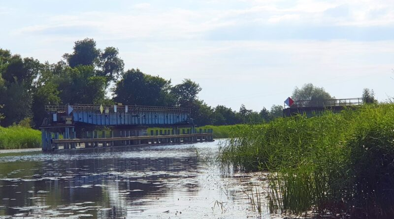 most obrotowy w rybinie