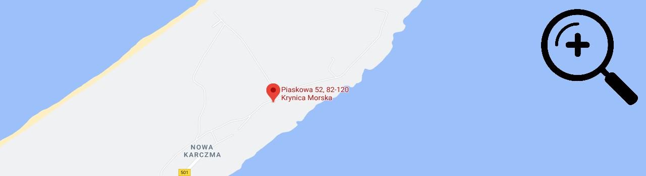 dom wczasowy promyczek mapa