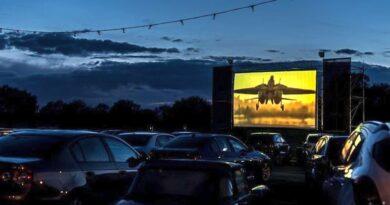 kino plenerowe na mierzei