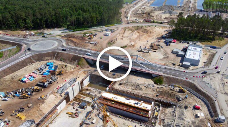 przekop mierzei wislanej most południowy otwarty