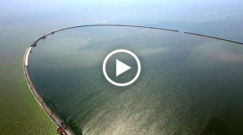 sztuczna wyspa na zalewie wiślanym