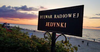 Bulwar Radiowej Jedynki w Stegnie