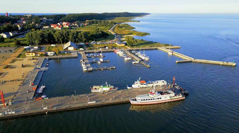 port jachtowy w krynicy morskiej